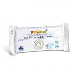 Primo White Air-dry Modelling Clay 500g