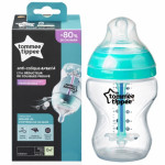 Tommee Tippee Advanced Anti-Colic Bottle X1, 260 ml with Heat Sensing Tube