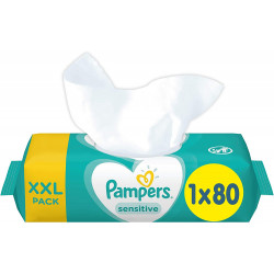 Pampers Sensitive Baby Wipes One Pack, 80 pieces