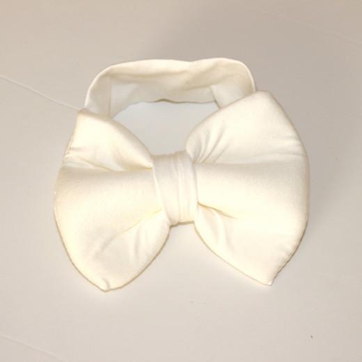 رباط شعر  لرأس للأطفال - أبيض أساسي
