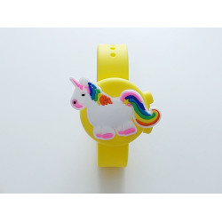 Hygiene Watch For Children , Yellow-Unicorn