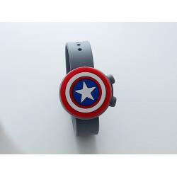 Hygiene Band For Children, Grey Captain America