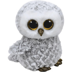 Ty Beanie Boos Owl Owlette White Medium