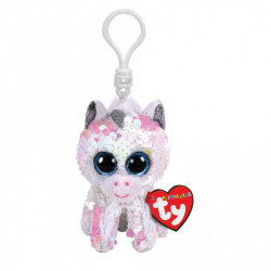 Ty Boos Flippable Unicorn Diamond Clip