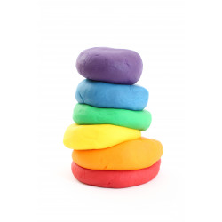 YIPPEE! Sensory Rainbow Playdough
