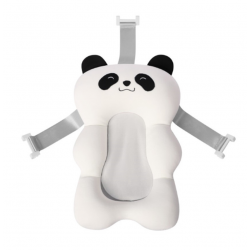 Newborn Bathtub Pillow - Baby Bath Seat Support Mat - Panda