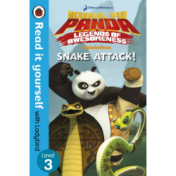 Penguin: Kung Fu Panda: Snake Attack! - Read it yourself with Ladybird - Level 3