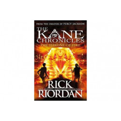 Penguin The Throne of Fire (The Kane Chronicles Book 2