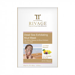 Rivage Dead Sea Exfoliating Mud Mask -  25 g x 4