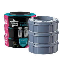 Tommee Tippee Sangenic Compatible Cassette (Pack of 3)