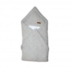 Baby Swaddle Blanket, Grey