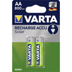 Varta Solar HR06 AA battery (rechargeable) NiMH 800 mAh 1.2 V 2 pc(s)