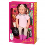 Our Generation Riding Doll with Book Tamera Toy