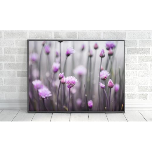 ExtraOrdinary Decorative Wood Framed Wall Art Prints, Mix Flower, A3 size