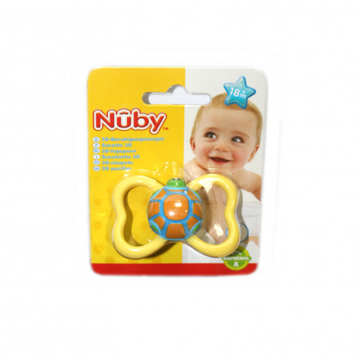 NUBY Classic Orthodontic Soother +18m - Yellow