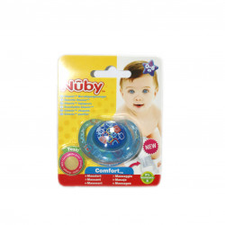 NUBY Classic Orthodontic Soother 0-6m - Blue