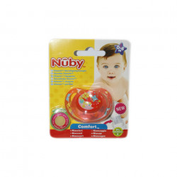 NUBY Classic Orthodontic Soother 0-6m - Red