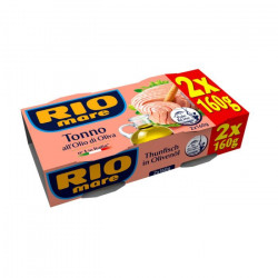 Rio Mare Tuna in Olive Oil 160g *2