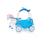 Little Tikes Princess Horse and Carriage Kids Ride On Play Toy Frosty Blue New