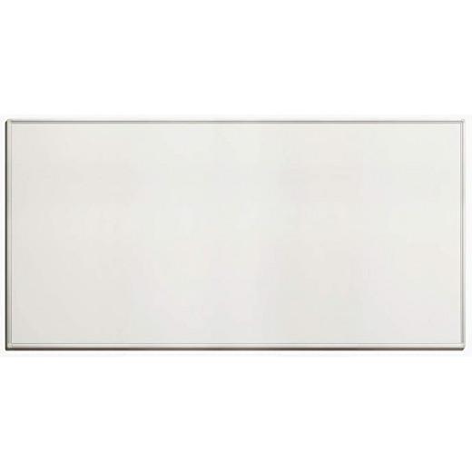 سبورة بيضاء - 200 × 100 سم - ممحاة مغناطيسية + 1 قلم سبورة بيضاء