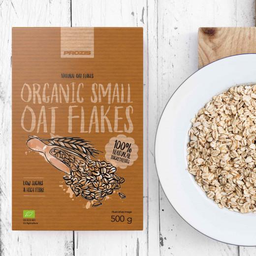 Probios Organic Oat Flakes - Small Flakes 500 g