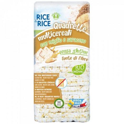 Probios Rice & Rice  Organic Multigrain squares