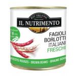 IL Nutrimento Organic Borlotti Brown Beans in Water 400g