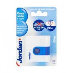 Jordan Easy Slide Fresh Floss with Wax & Toothpaste 25m