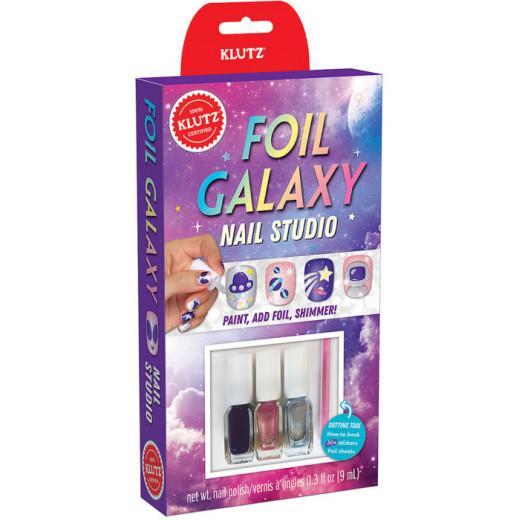 Klutz Foil Galaxy Nails