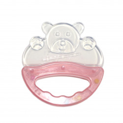 Potato Animal Series Teether - +3m -Pink Bear