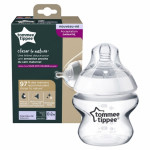 Tommee Tippee Closer to Nature Extra Slow Flow Bottle, 150 ml