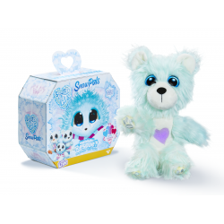 Little Live Scruff-a-Luvs Classic Candy Floss Soft Toy - Snowball