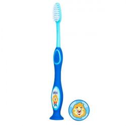 Chicco Milk teeth toothbrush 3-6 years - Blue