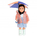 Our Generation Deluxe - Rainwear with an umbrella