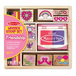 Melissa & Doug Friendship Stamp Set - Friendship