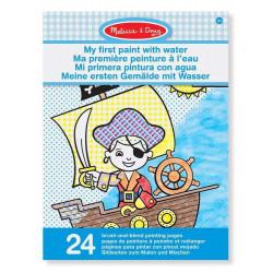 دفتر تلوين مع الألوان المائية الخاصة به من ميليسا اند دو