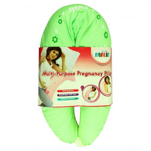 وسادة الحمل باللون الأخضر والأصفر من فارلن
