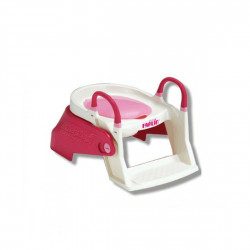 Farlin 2 in 1 Potty Trainer - Pink