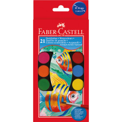 Faber Castell -Watercolors Paint box of 21 colors