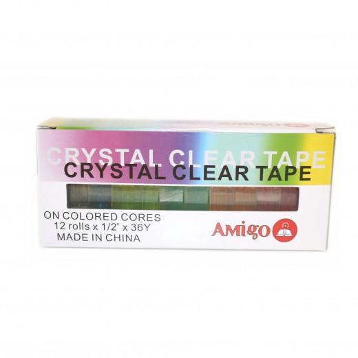 Amigo Adhesive Tape Set X12 pieces