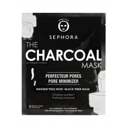 Sephora The Charcoal Black Fabric Mask