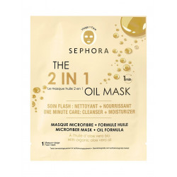 Sephora The 2 In 1 Oil Mask.1 min