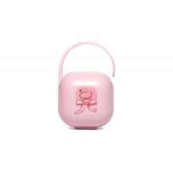Suavinex Soother Holder Pink