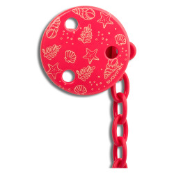 Suavinex Red Sea Pacifier Clip