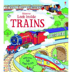 Usborne - Look Inside Trains