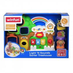 Winfun Light 'n Sounds Sorter Treehouse