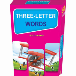 Learning Express - Three Letter Words Puzzle Cards