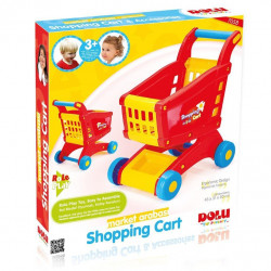 Dolu - Shopping Cart Printed Box - Red