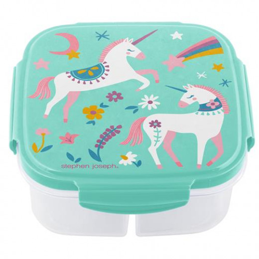 Stephen Joseph Container With Ice-Pack Unicorn