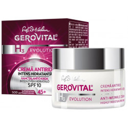 Gerovital Antiwrinkle Cream Concentrated With Hyaluronic Acid